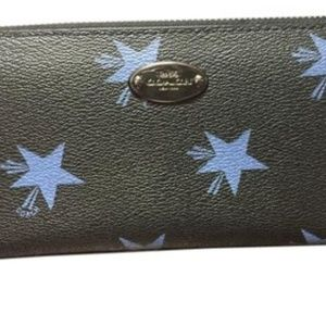 Coach Accordion Style Star Canyon Wallet